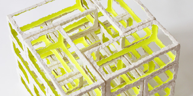 "Vernissage bei barbers am 24. Juli: ""Neon Temple"" , Ceramic Installations von Annakatrin Kraus"